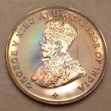 -1919 Straits Settlements George V Silver Dollar Proof Restrike