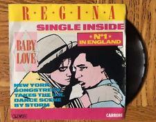 "REGINA ""Baby Love / Baby Love (Dub Version)""  45 Tours SP"