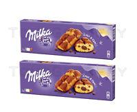 2 x Milka Cake & Choc Fluffy Cupcake with Alpine Chocolate Filling 175g 6.2oz