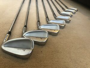 Ping iBlade Irons / 3-PW / White Dot / Extra Stiff Flex Steel Shafts / +1 Inch