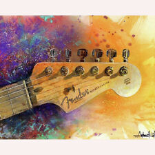 Full Drill Diamond Painting Music Guitar Chord DIY Diamond Embroidery ZY230F