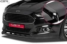 Cup Spoiler Front Ansatz Lippe Schwert für Ford Mondeo MK5 Hochglanz