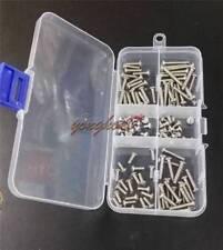 120pcs M3 Button Head Socket Cap Screw Qty Assortment Kit
