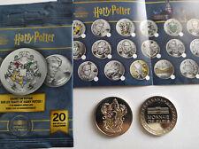 Collection Médaille Harry Potter- Monnaie de Paris 2021- GRYFFONDOR Colorée