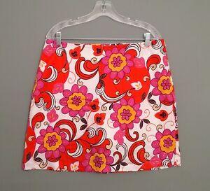 NWT Girls Golf Multicolor Floral Print Women's Golf Skort-100% Cotton
