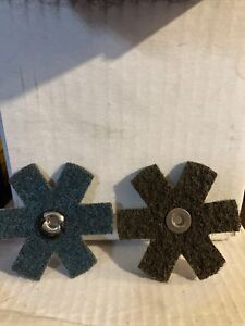 standard abrasives star 3 x 1/4-20 Very Fine s/conditioning 724604