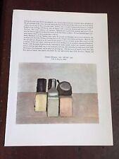 Giorgio Morandi Still Life Giuseppe Capogrossi Surface Vintage Art Print 21122