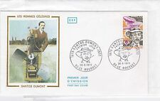 FRANCE 1973 SANTOS DUMONT unadressed FDC