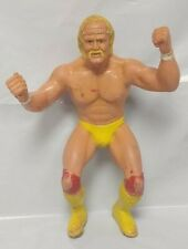 "WWF WWE LJN Hulk Hogan Yellow Red  8"" ACTION Wrestling FIGURE TITAN SPORTS"