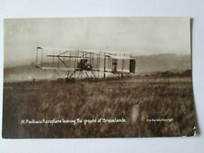 Brooklands postcard.Brooklands aeroplane postcards.flying postcards.