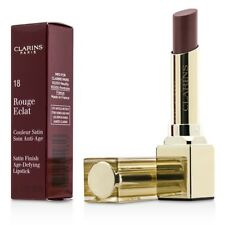 Clarins Rouge Eclat Satin Finish Age Defying Lipstick - #18 Strawberry Sorbet 3g