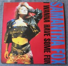 Samantha Fox, i wanna have some fun, LP - 33 tours