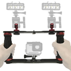 Underwater Camera Tray for Scuba Diving Video Lights Camera Dome Port GoPro OSMO