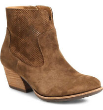 NIB Kork-Ease Sherrill Suede Leather Ankle Bootie/Side Zip US 9/40.5 Rust Brown