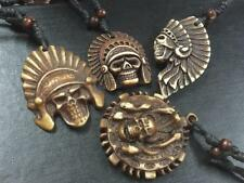 8pc lots  wholesale tibet jewelry big style tibet skull necklace  pendants HS015