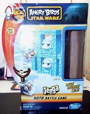 Angry Birds Star Wars Jenga Hoth Battle Game By Hasboro UEC, Fast Shipper