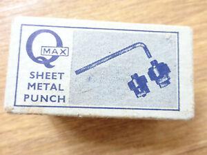 Vintage Q Max sheet metal punch 9/16 in box