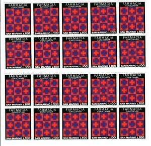 S34689 DEALER STOCK SAN MARINO 1975 MNH** Farmacia 1v X 20 SETS