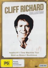 Cliff Richard Collection DVD Heathcliff Time Machine Bold As Brass Soulicious