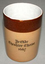 Royal Doulton Original 1900's Cheshire Cheese Stoneware  Advertising  Jug