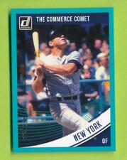 2018 Donruss Optic Teal Border Mickey Mantle (#200)  The Commerce Comet  004/199