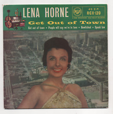 LENA HORNE - GET OUT OF TOWN. (UK, 1958 EP, SILVER SPOT RCA, RCX 139)