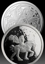 Lady Godiva 5 OZ .999 Silver Proof Steve Ferris Limited 500 COA
