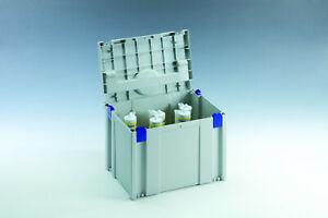 TANOS Classic Kartuschen Einsatz Systainer IV SYS 4 licht grau koppelbar > T-LOC