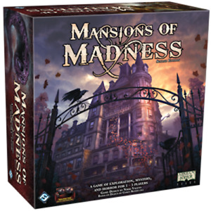 Mansions of Madness Board Game By Fantasy Flight Games (2nd) Second Edition