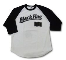 Black Flag - RAGLAN 3/4 SLEEVE T-SHIRT (Size XL Only)