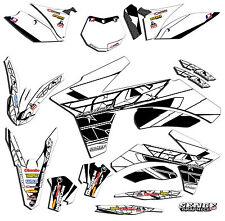 FITS KTM EXC 2005 2006 2007 300 400 450 525 GRAPHICS KIT DECO DECALS STICKERS
