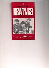 """The Beatles Hang Tag with """"Punch Out""""Card"""