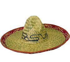 HOMMES ADULTE Sombrero mexicain Déguisements Chapeau de paille beige /
