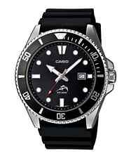 Casio Men's Black Resin Watch, 200 Meter WR, Date,  MDV106-1AV
