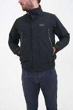 Mens Small Black Jack Wolfskin Lightweight Outdoor Jacket Coat