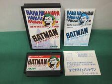 NES - DYNAMITE BATMAN - Boxed. rare action. Famicom, Japan Game 10983