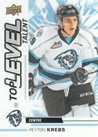 2018-19 Upper Deck CHL Hockey Top Level Talent #TL-2 Peyton Krebs