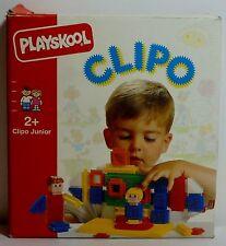 PLAYSKOOL VTG 1991 STICKLE BRICKS CLIPO JUNIOR # 1633 32 Pcs SFINOTOUBLAKIA MIP
