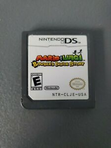Mario Luigi Bowsers Inside Story (Nintendo DS, 2009) Authentic, Cartridge Only