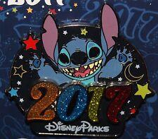 Disney DISNEYLAND DLR 2017 LOGO Moon & Stars Series STITCH 3D PIN