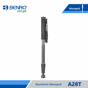 BENRO A28T Monopod Professional Aluminium Monopods 4 Joint Max Load 12kg