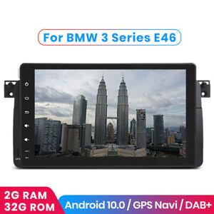 "For BMW 3-series E46 9""Android 10.0 Car Radio GPS Nav USB BT WIFI 2+32GB Stereo"