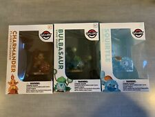 Pokemon Gallery Kanto Starters Figure Lot // Bulbasaur Charmander Squirtle