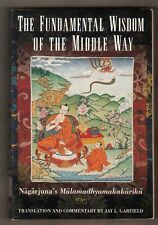 BUDDHISM = MULAMADHYAMAKAKARIKA = THE FUNDAMENTAL WISDOM OF THE MIDDLE WAY =