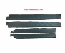 Mercedes W108 250 280 S SE SEL 300 SEB Black Door Sill Rubber Mat Set 4 Pcs New