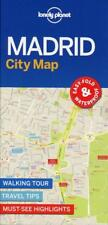 Lonely Planet MadridCity Map (2017, Karte)