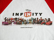 Rare DISNEY Infinity Event Promo Monsters Inc Fan White Red T Shirt Mens L