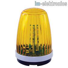 LED Warnleuchte Warn Blinkleuchte Blinklampe 230V 12-24V für Garagen Tor Antrieb