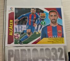 LIGA ESTE 2017 2018 F.C. BARCELONA ALCACER  ERROR CON RELIEVE 4 ed