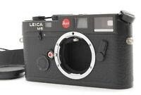 """EXC+5 w/Case"" LEICA Leitz M6 0.72 Non TTL Black Rangefinder Film Camera Japan"